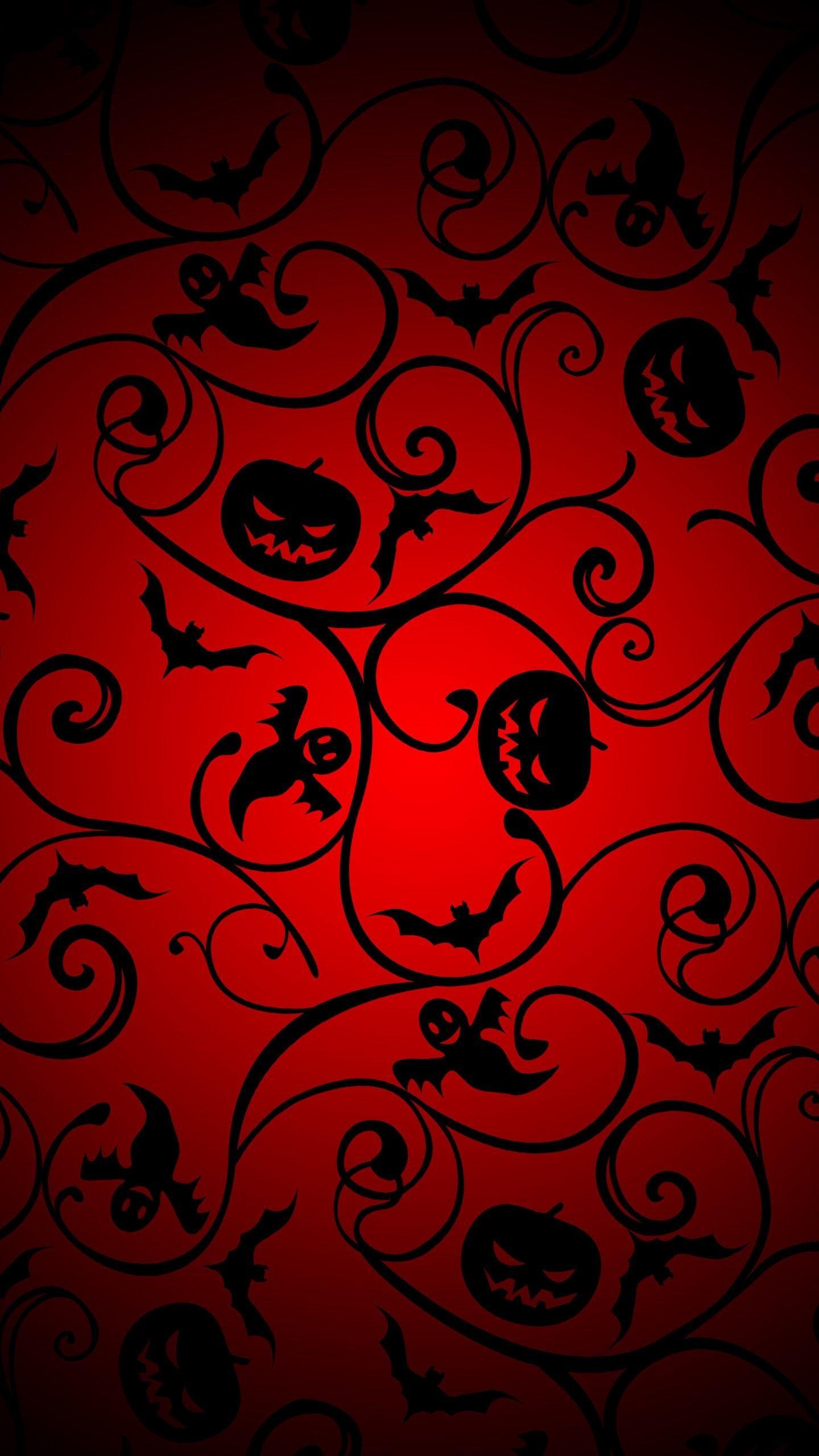 halloween pattern 2 wallpaper background