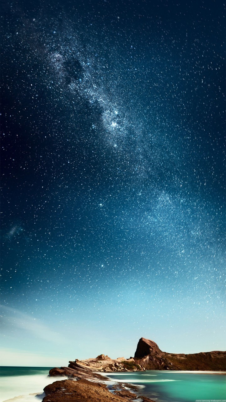 Night And Stars Hd Wallpapers For Galaxy J7 Wallpapers Pictures